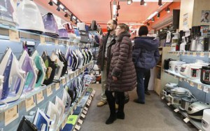 Residents of Moscow buy imported household appliances